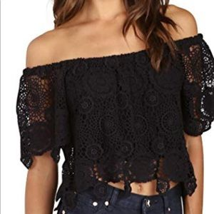 Nightcap Clothing crochet top